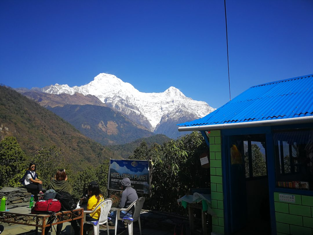 Mt. annapurna range-annapurna trekking